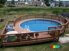Swimming Pool:OLYMPUS DIGITAL CAMERA Amazing Swimming Pool Deck Ideas