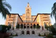 Perhaps we can recover from jetlag at the Biltmore Hotel in Coral Gables...