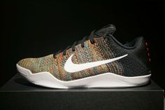 277c40bcdcb Nike Kobe 11 Elite Low iD Flyknit Multi-Color Zoom Size 9.5 US 100%