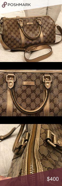 822145e79e9 Gucci vintage Boston bag. Vintage GucciVintage BagsBoston BagGucci  HandbagsLouis Vuitton DamierGucci PursesGucci Bags. Spotted while shopping  on Poshmark  ...