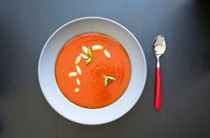 Tomato and Red Pepper Soup on Munchery