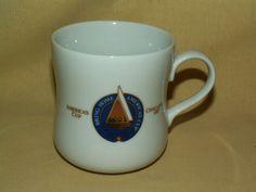 TASTER'S CHOICE MUG AMERICA'S CUP CHALLENGE 1987 COFFEE TEA CUP BRING HOME BOAT #TastersChoiceTasters