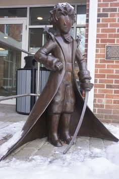 The Little Prince Statue – Northport, New York   Atlas Obscura