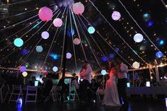 Clear Roof Peg Pole Marquee with Chinese Paper Lanterns and Fairy Lights Marquee Wedding Receptions, Wedding Venues, Wedding Ideas, Wedding Inspiration, Marquee Hire, Marquee Lights, Marquee Decoration, Decorations, Ring Around The Moon