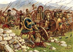 """Battle of Thermopylae"", Aleksandr Averyanov"
