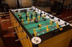 Foosball and craft beer at Adelbert's Brewery Taproom in Austin, TX  Photo by: Kevin Gourley