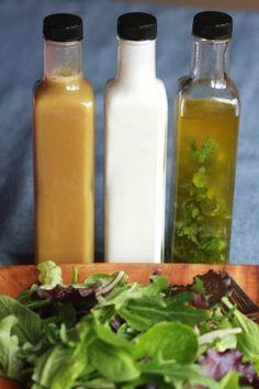 make ur own salad dressings
