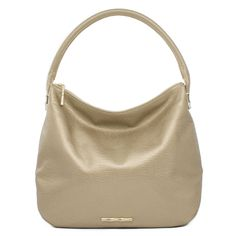 Madelyn Patina Metallic Gold Leather Hobo A classic silhouette in stunning metallic gold leather, the Madelyn exudes the ultimate in chic and versatility. Golden plated bamboo hardware accents this roomy bag, offering the signature sophistication Elaine pours into every one of her bags.