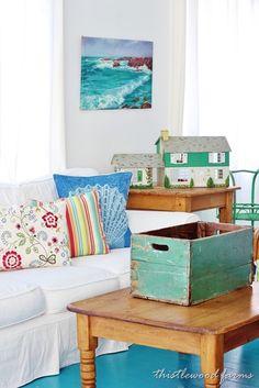Beautiful Beach Cottage Weathered Decor Ideas !