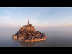 "(VIDEO) ""Let us not keep God waiting, Cardinal Joyeuse,"" Matthew said sharply. Joyeuse followed behind, as if Mont Saint-Michel belonged to the de Clermont family and not the church.""  Shadow of Night, All Souls Trilogy by Deborah Harkness /   The Magical Mont-Saint-Michel: an Island once more at high tide"