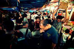 Bustling Activity, Chinatown CNY Festive Street Bazaar 2013, Singapore