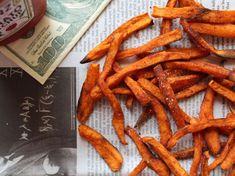 Frites de patates douces au paprika, facile et pas cher : recette sur Cuisine Actuelle