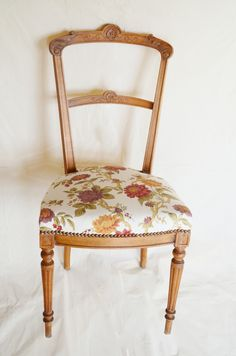 Mes cr ations on pinterest toile de jouy louis xvi and art for Chaise volante