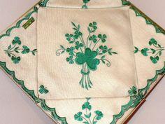 images of irish linens | Set of Irish linen place mats and serviette napkins
