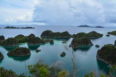 The most typical view of Pianemo, Raja Ampat - one of 4 things to see before you die #Indonesia