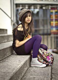 Emo style (by Vi-Dan Tran) http://lookbook.nu/look/1441483-Emo-style
