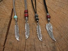 Tribal. Native. Ethnic. Boho. Jewelry. Leather by graywolfnation