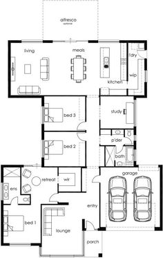 RF 275 by Affordable Family Homes - from $170,850 - Floorplans, Facades, Display Homes and more - iBuildNew