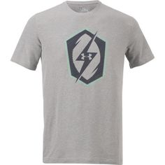 Under Armour Men's Football Icon T-shirt (Grey, Size Small) - Men's Athletic Apparel, Men's Athletic Performance Tops at Academy Sports