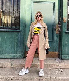 Carlson Young, Chloe Bourgeois, Duster Coat, Normcore, Jackets, Clothes, Style, Fashion, La Mode