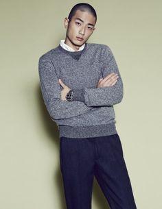 Park Sung Jin by Mok Jung Wook for W Korea Sept 2014 Park Sung Jin, W Korea, Singing, Men Sweater, Turtle Neck, Art, Fashion, Art Background, Moda