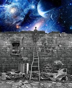 Funny pictures about If People Looked At The Stars Each Night. Oh, and cool pics about If People Looked At The Stars Each Night. Also, If People Looked At The Stars Each Night photos. Just Dream, Dream Big, Look At The Stars, Lectures, Photomontage, Trippy, Illustration, Fantasy Art, Space Fantasy