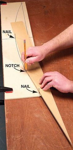 Draw Huge Arches - Woodworking Shop - American Woodworker