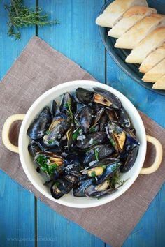 Mussels in white wine (mussels in wine) Ethnic Recipes, Food, Essen, Meals, Yemek, Eten