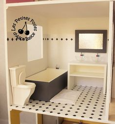 Maison de Barbie - # 6 : les meubles (chambres et salle de bain)