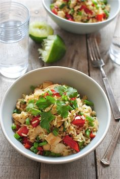 Easy Chicken and Vegetable Curry with Rice