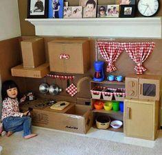 Karton mutfak