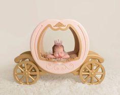 El Original - princesa carro Prop carro Prop, Prop de Cenicienta, foto recién nacido Prop, Prop fotografía recién nacido