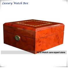 82.00$  Buy here - http://ali1jv.worldwells.pw/go.php?t=32231752901 - New High Quality 6 Grid Gross Finish Wacth Case Best Gift for Christmas Birthday Gift Wrist Watches Storage Box GC02-LG4-6HZX 82.00$