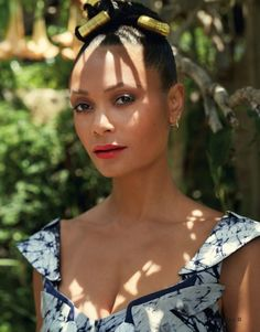 FEATURE: British Actress Thandie Newton Celebrates Africa's Women And Fashion In Latest Issue Of New African Woman – AFROPUNK