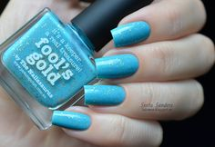 piCture pOlish- Fool's Gold by The Nailasaurus