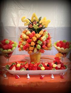 YummyTecture fruit display