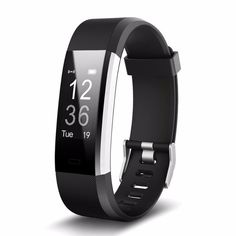 097073541004 Smart Fitness Tracker Watch For IOS   Android Heart Rate Monitor
