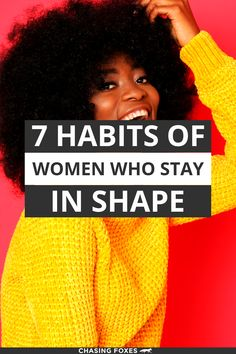 These 7 simple tips are great for losing weight or remaining at your healthy weight. #ChasingFoxes #HealthyWeight #LoseWeight