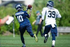 Seahawks sign 2014 second-round draft choice Paul Richardson  I'm a big fan of Paul Richardson now. Great at camp