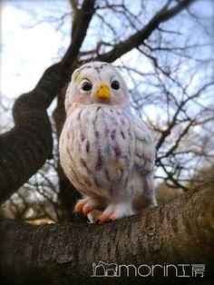 ●鳥|morin工房ー羊毛フェルト人形作家