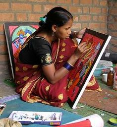 Image result for bengali folk art World Images, Folk Art