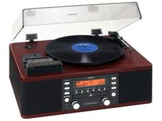 Vitrola TEAC LPR550 CD Player Fita Cassete - com Sistema HI-FI Entrada Auxiliar Rádio AM/FM com as melhores condições você encontra no Magazine Sualojaverde. Confira!