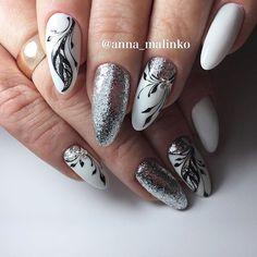 """97 Likes, 1 Comments - ANNA_MALINKO (@anna_malinko) on Instagram: """"#ногти #рисуем #аннамалинко #лучшиеногти #ногтики #рисункинаногтях #дизайн #дизайнногтей #шеллак…"""""""