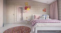 Уютный минимализм в доме из бруса — Интерьеры квартир, домов — MyHome.ru