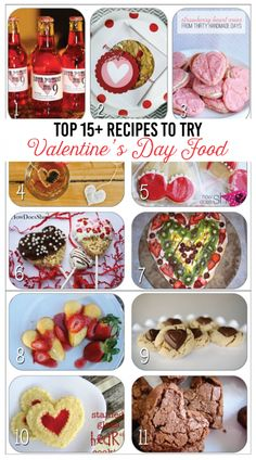Top Recipes to Try - Valentine's Day Food!