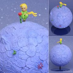 AmiAmi [Character & Hobby Shop] | The Little Prince (2015 Film) Little Prince & Rose Complete Figure(Tentative Pre-order)