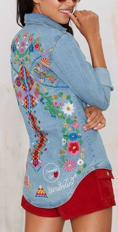 love child denim shirt