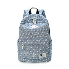 47fcbd8625 SUNBORLS Brand Design Fresh Cute Book Bags Floral High Quality Canvas  Printing Backpack Women School Backpacks for Teenage Girl