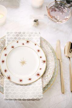 heavenly tabletop // #christmas #entertaining