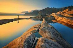Montes Ookshoman - Isla de Senja, Noruega. ©Pawel Kucharski